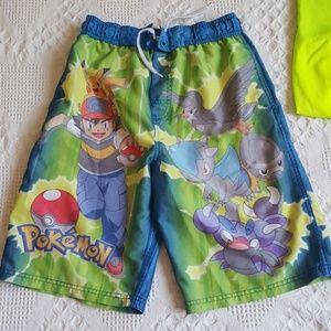 2339458a44 Pokemon Swim - Pokemon Swim Shorts **Free Champion top